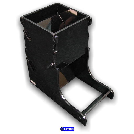 Black Dice Tower - LITKO Game Accessories