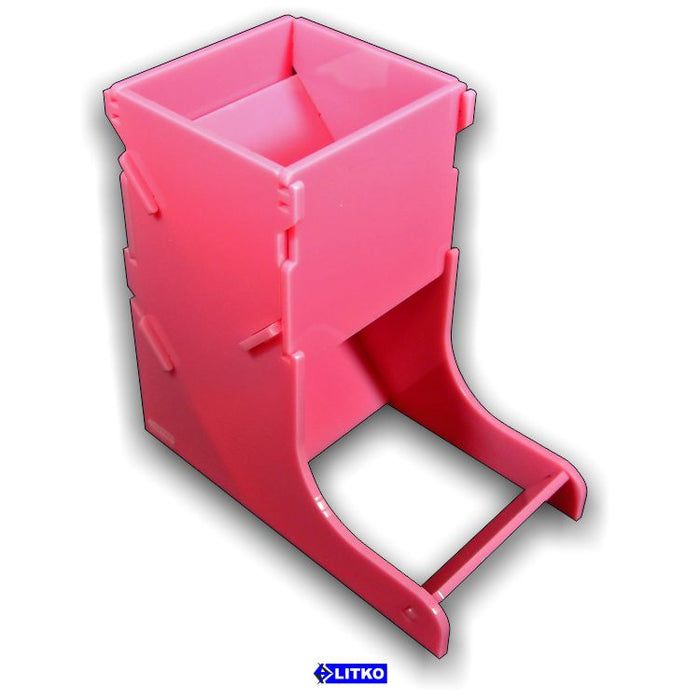 Pink Dice Tower - LITKO Game Accessories