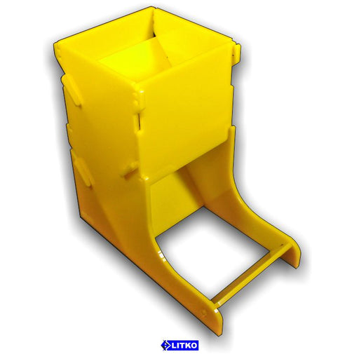 Yellow Dice Tower - LITKO Game Accessories