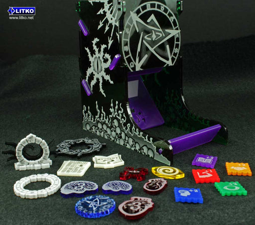 Cthulhu Dice Tower - LITKO Game Accessories