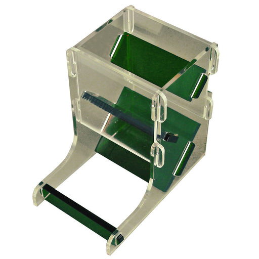 Translucent Green/Clear Mini Dice Tower Kit - LITKO Game Accessories