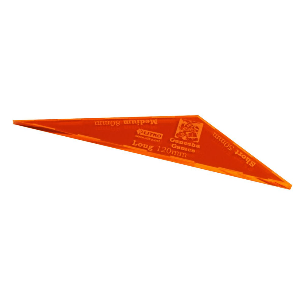 LITKO Song of Blades 25mm Gauge, Fluorescent Orange - LITKO Game Accessories