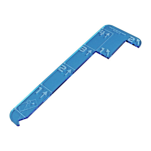LITKO Space Fighter Huge Ship Universal Maneuver Gauge, Fluorescent Blue - LITKO Game Accessories