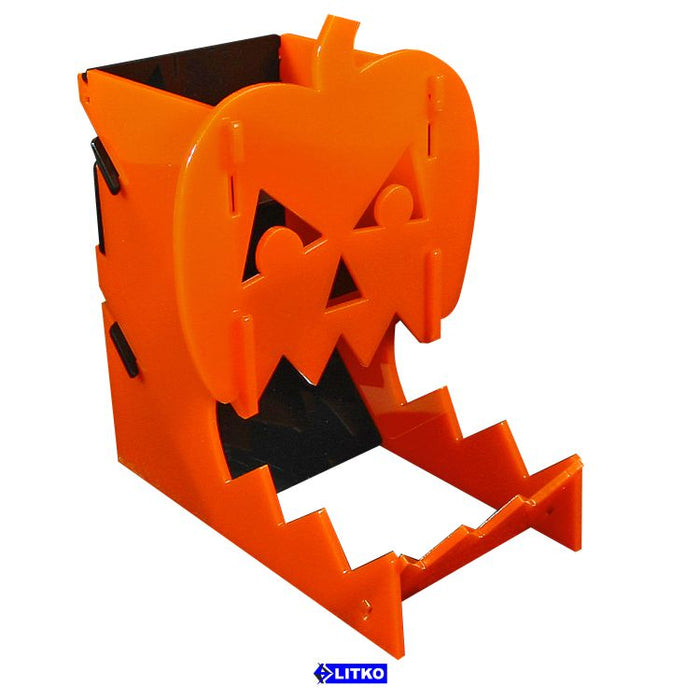 LITKO Jack-O-Lantern Dice Tower - LITKO Game Accessories