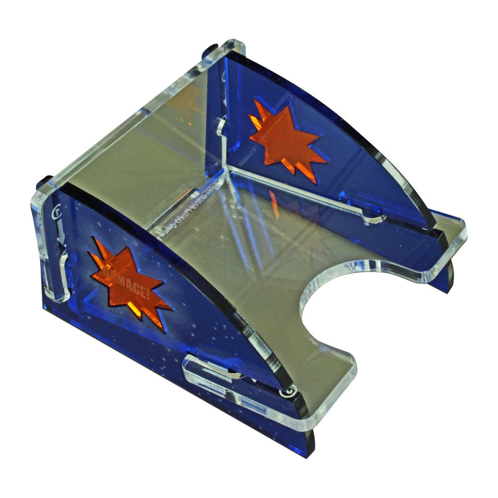 Mini Space Fighter Deluxe Damage Deck Tray (Short, Holds 40-60 Mini Sized Cards) - LITKO Game Accessories