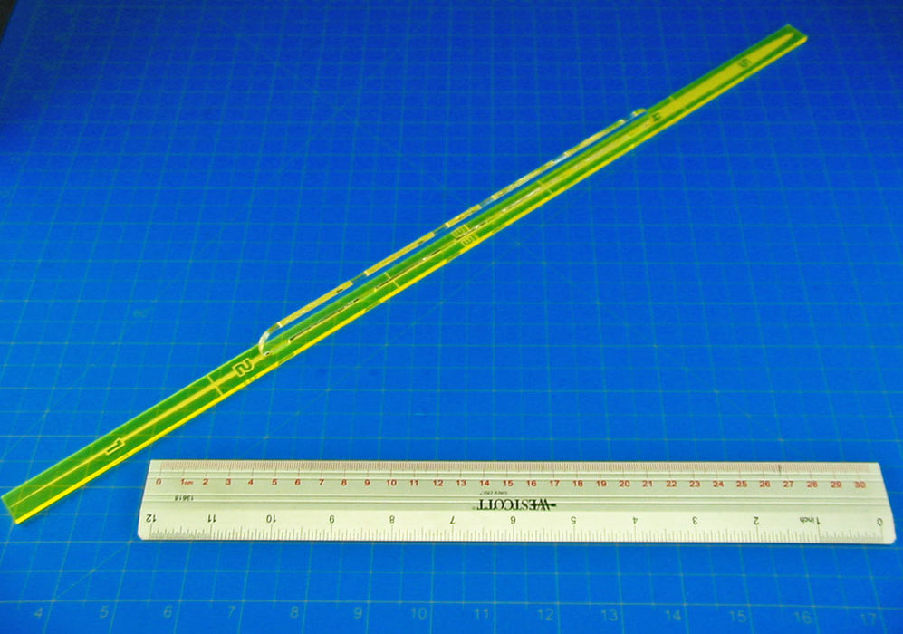 Space Fighter Range 5 Fire Gauge, Fluorescent Yellow - LITKO Game Accessories
