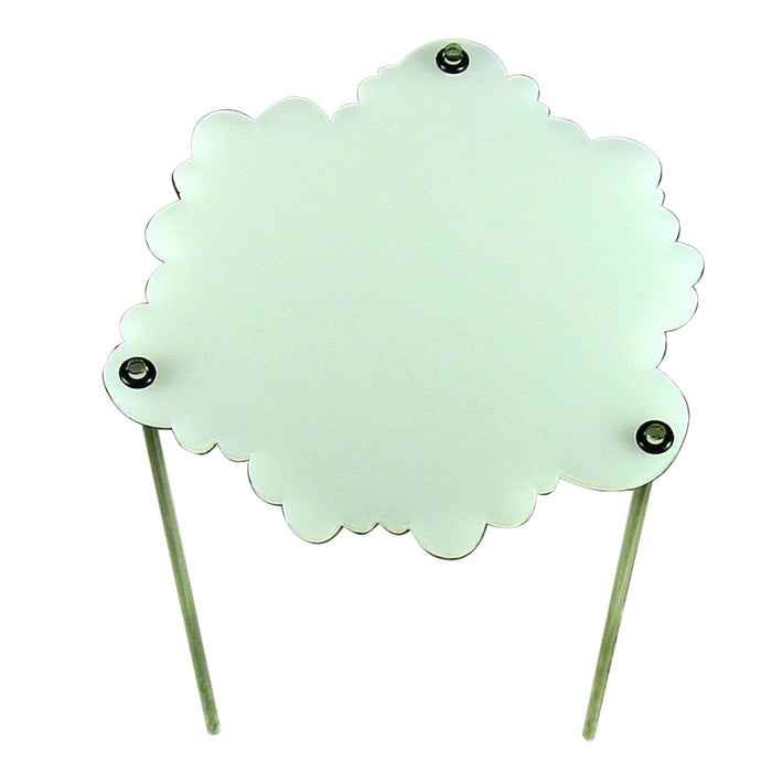 Elevated 4-inch Cloud, Translucent White - LITKO Game Accessories