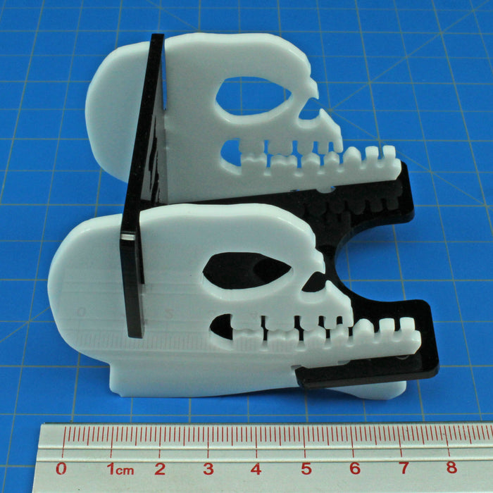 Mini Skull Deck Tray (Medium, Holds 75-100 Mini Sized Cards) - LITKO Game Accessories
