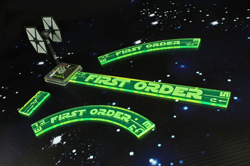 LITKO Space Fighter 2nd Edition First Order Maneuver Gauge Set, Fluorescent Green (11) - LITKO Game Accessories