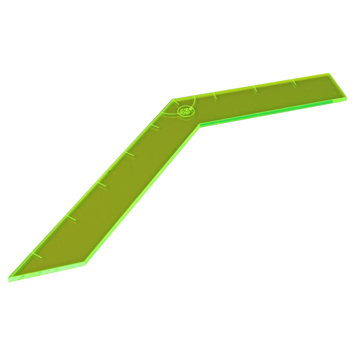 LITKO Turn Template Compatible with Savage Worlds, Fluorescent Green