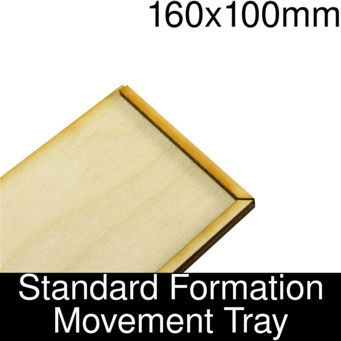 Formation Movement Tray: 160x100mm Standard Tray Kit - LITKO Game Accessories