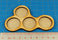 4-Figure 25mm Circle Horde Tray - LITKO Game Accessories