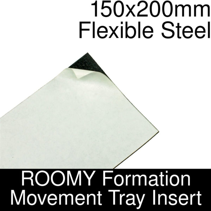 Formation Movement Tray: 150x200mm Flexible Steel Insert for ROOMY Tray - LITKO Game Accessories