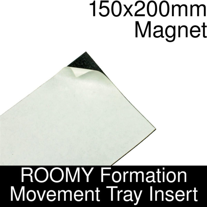 Formation Movement Tray: 150x200mm Magnet Insert for ROOMY Tray - LITKO Game Accessories