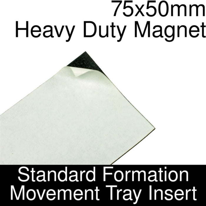 Formation Movement Tray: 75x50mm Heavy Duty Magnet Insert for Standard Tray - LITKO Game Accessories
