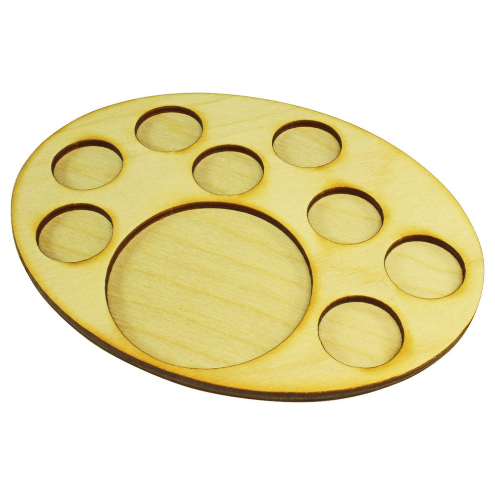 LITKO 126x167mm Oval Support Tray for 8-25mm 1-65mm Circle Bases - LITKO Game Accessories