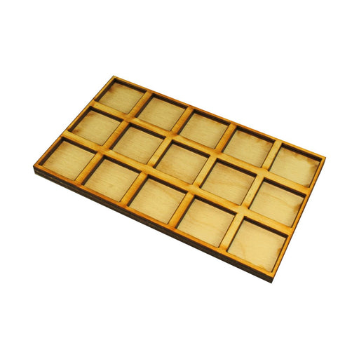 LITKO 5x3 Formation Tray for 20mm Square Bases Compatible with Oathmark - LITKO Game Accessories