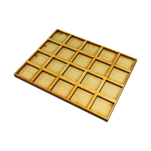 LITKO 5x4 Formation Tray for 20mm Square Bases Compatible with Oathmark - LITKO Game Accessories