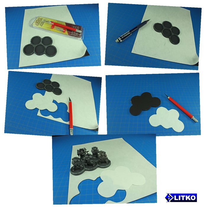 8.5x11 inch Flexible Magnetic Sheet (HEAVY DUTY) - LITKO Game Accessories