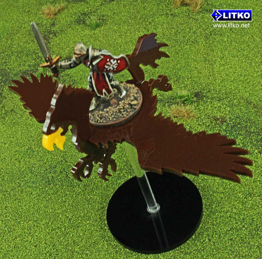 Flying Hippogriff Character Mount Kit with 2-inch Circle Base - LITKO Game Accessories