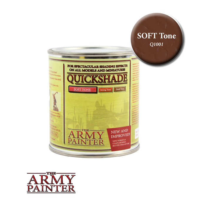 Army Painter, Quickshade, Soft Tone - LITKO Game Accessories
