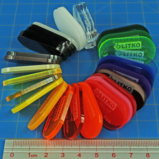Acrylic Color Sample Ring (28) - LITKO Game Accessories
