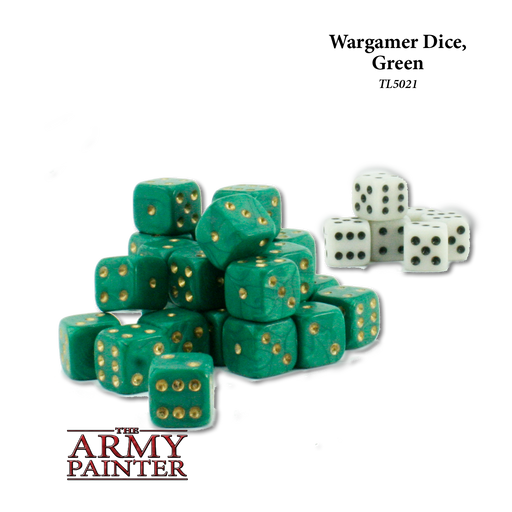 Wargamer Dice, Green (36) - LITKO Game Accessories