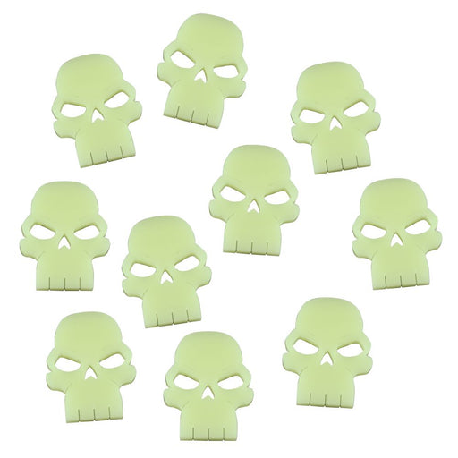 Skull Tokens, Ivory (10) - LITKO Game Accessories