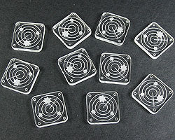 Scanner Blip Tokens, Clear (10) - LITKO Game Accessories