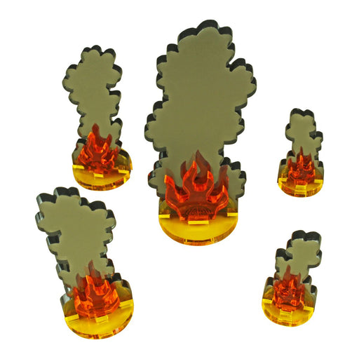 Flaming Wreckage, Variety Set (5) - LITKO Game Accessories