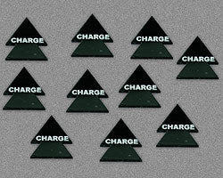 Charge Tokens, Black (10) - LITKO Game Accessories