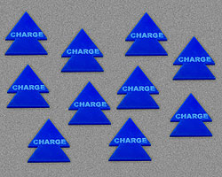 LITKO Charge Tokens, Blue (10) - LITKO Game Accessories