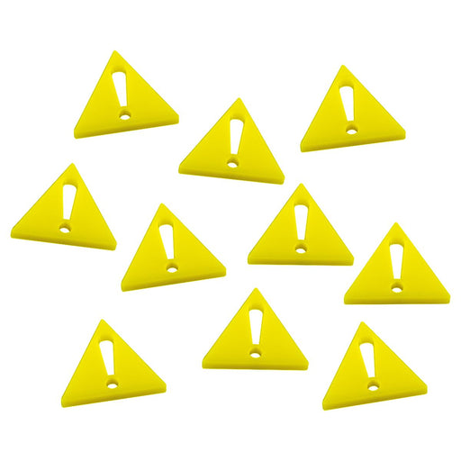 Alert! Tokens, Yellow (10) - LITKO Game Accessories