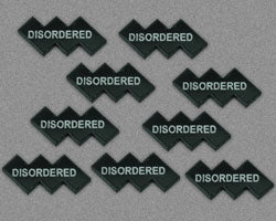 LITKO Disordered Tokens, Black (10) - LITKO Game Accessories