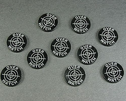 Overwatch Tokens, Translucent Grey (10) - LITKO Game Accessories