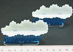 Rain Squall Markers (2) - LITKO Game Accessories