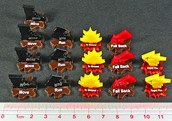 Gothic Infantry Marker Set, Multi-Color (15) - LITKO Game Accessories