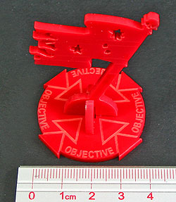 Objective Markers, Red - LITKO Game Accessories
