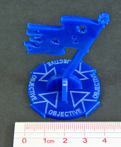 Objective Marker, Blue - LITKO Game Accessories