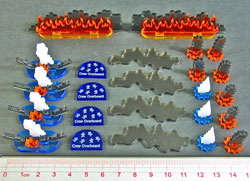 LITKO Modern Naval Wreckage Set (24) - LITKO Game Accessories