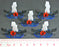 Battleship Sunk Markers, Multi-Color (5) - LITKO Game Accessories