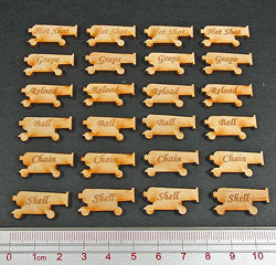 Cannon Reload Set, Natural Wood (24) - LITKO Game Accessories