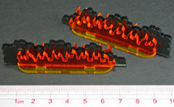 Flaming Barrier, Small (2) - LITKO Game Accessories
