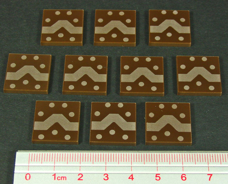 Trench Works Tokens, Brown (10) - LITKO Game Accessories