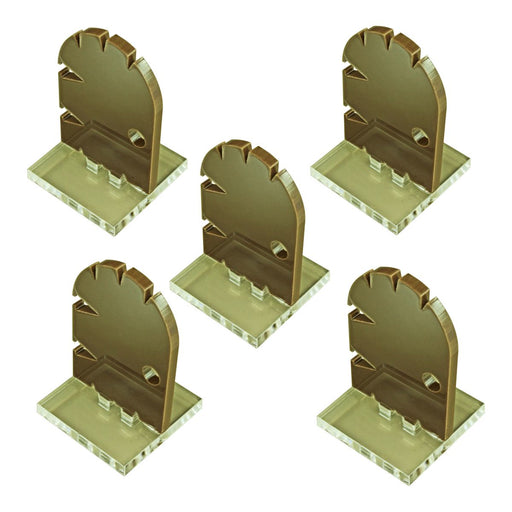 Medium Door Markers, Brown (5) - LITKO Game Accessories