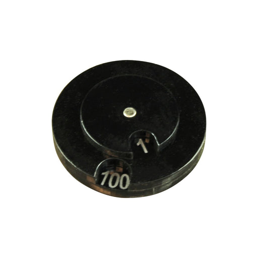 LITKO Circle Combat Dials Numbered 0-100, Black - LITKO Game Accessories