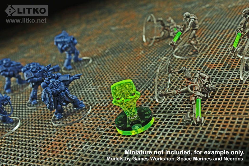 Reanimation Dials (2) - LITKO Game Accessories