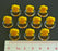 LITKO Trash Can Markers, Yellow (10) - LITKO Game Accessories