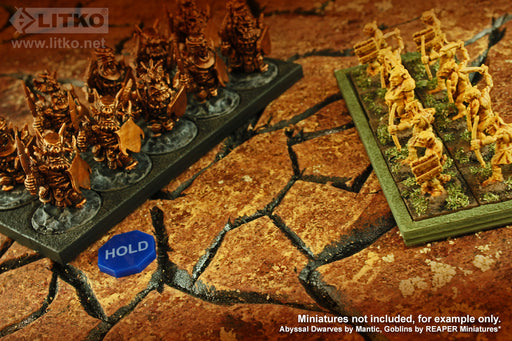 LITKO Hold Tokens, Blue (10) - LITKO Game Accessories