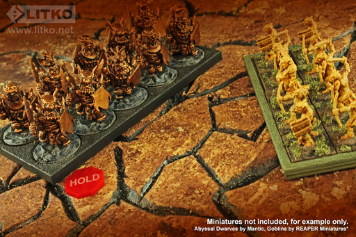 LITKO Hold Tokens, Red (10) - LITKO Game Accessories